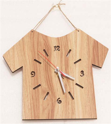 wood clock designs new simple type wooden wall clocks modern design home