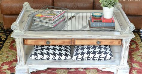 coffee table makeover using chalk paint hometalk