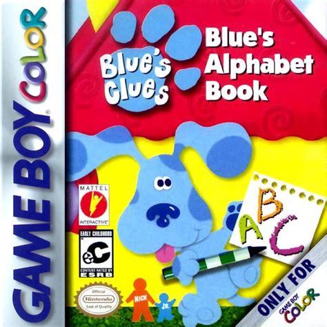 blue s clues alphabet book boy color