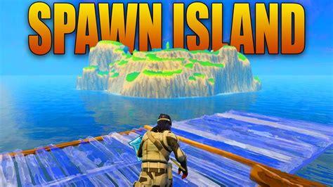 fortnite island building to spawn island in fortnite battle royale