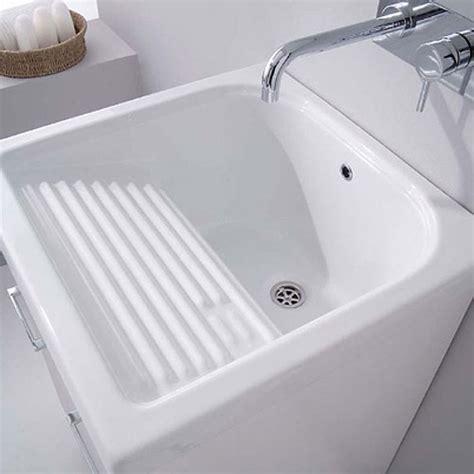 vasca in ceramica lavatoio per esterno in ceramica corallo 61x51 con