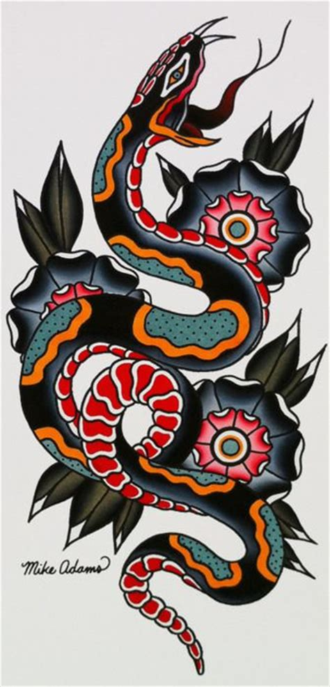 old school snake tattoo designs 25 best ideas about traditional snake on