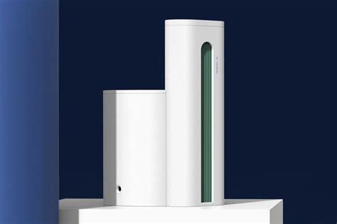 modernist industrial air purifiers air column air purifier