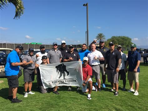 Wounded Warrior Project Veterans Golf Like Pros at Hoakalei