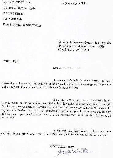 Exemple Lettre De Remerciement Rapport De Stage Exemple De Lettre De Remerciement Rapport De Stage Covering Letter Exle