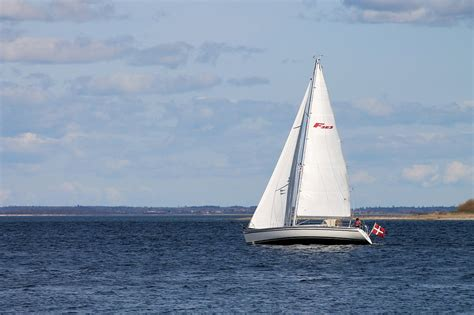 sail boat or sailboat free photo sailboat the sea the water free image on