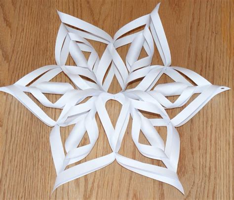 How To Make 3d Snowflakes Out Of Construction Paper - best 20 3d snowflakes ideas on