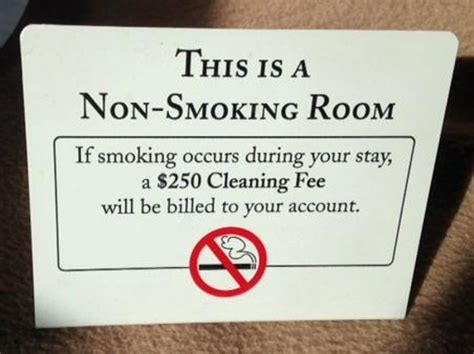 no smoking sign hotel no smoking sign to the right of front door picture of