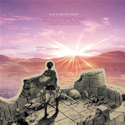Cd Impor Original New Survivor St attack on titan season 2 original soundtrack cd import