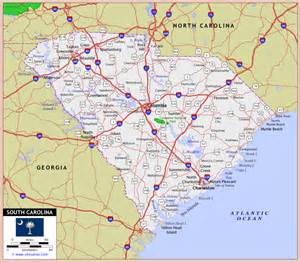 and south carolina road map maps of south carolina fotolip rich image and wallpaper