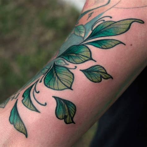 rose tattoo with leaves best 25 leaf tattoos ideas on leaf