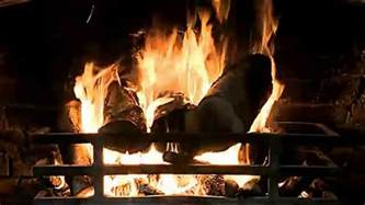 Crackling Fireplace Sound by Classic Fireplace With Crackling Sounds