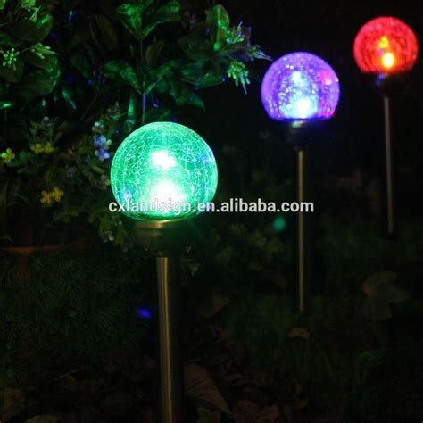 Colored Solar Lights Outdoor Led Solar Garden Pathway Outdoor Light Xltd719 Led Solar Glass Light Buy Led Solar Glass