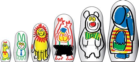 design your own russian doll create your own matryoshka nesting dolls