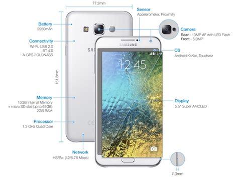 samsung galaxy ailesine e5 ve e7 ad箟nda 箘ki yeni telefon