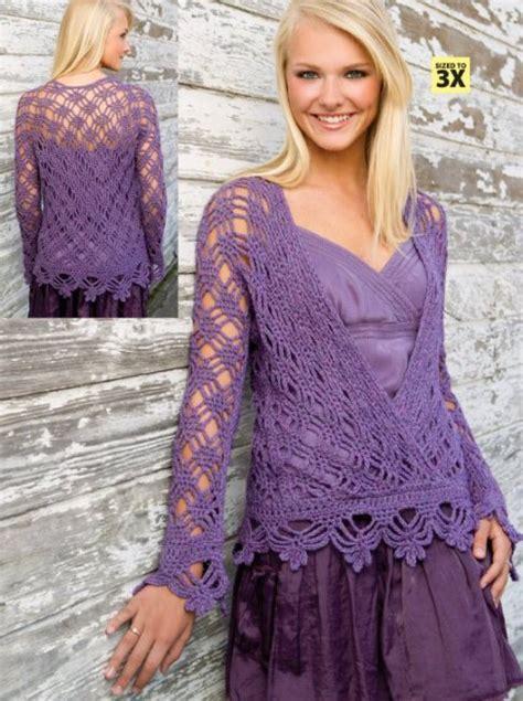 pattern for long kimono w552 crochet pattern only purple mist kimono long sleeve
