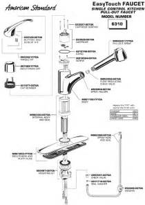 American Standard Kitchen Faucet Parts American Standard Faucet Parts Faucets Reviews