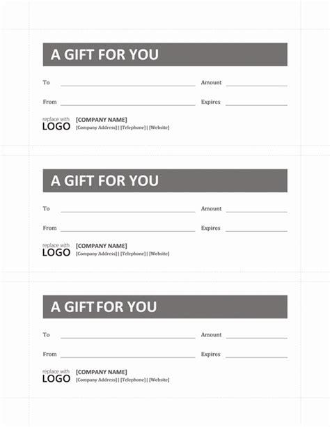 microsoft office gift certificate templates a voucher template
