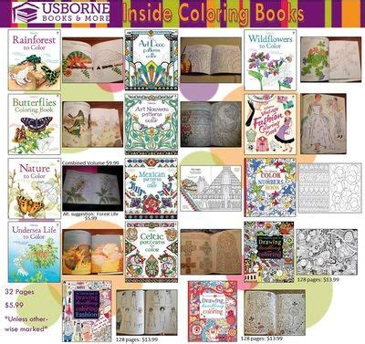 usborne coloring books for adults 24 best coloring images on
