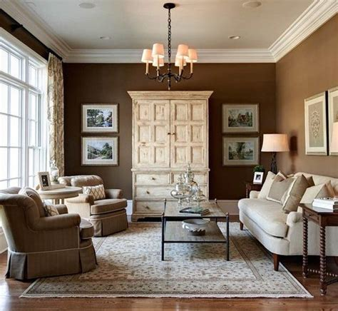 Brown Interior Design by The Color Orange Works Best In Small Amounts Matt And Shari