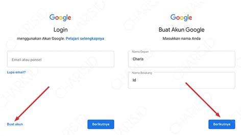membuat akun gmail  android  pc terbaru