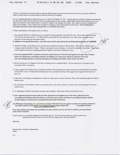 Lien Release Letter Bank Of America Department Agrees To Stop Foreclosure So Active Duty Member Can Sale With