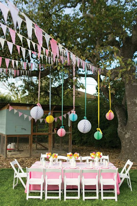 Backyard Birthday Ideas 10 Backyard Ideas Tinyme