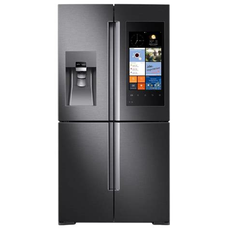 samsung refrigerators door samsung 27 9 cu ft family hub 4 door flex door