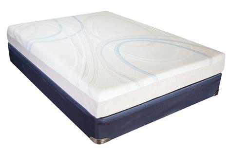 sleep gel memory foam xl mattress at gardner white