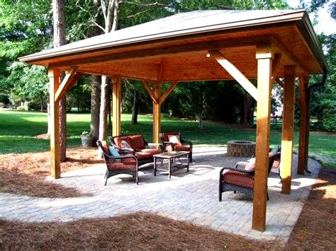 Pavilion Ideas Backyard How To Build Backyard Pavilion Plans Pdf Plans