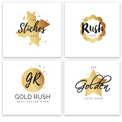 Golden Watercolor Logos Template For Free Download On Pngtree Watercolor Logo Template