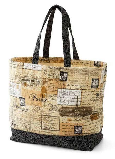 tote bag pattern free online canvas tote bag free sewing tutorial