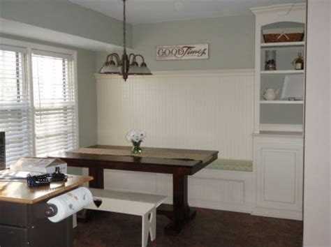 building a built in bench build a custom corner banquette bench construction haven home business directory