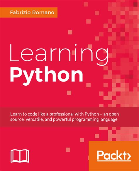 begin to code with python books how is python code organized packt books