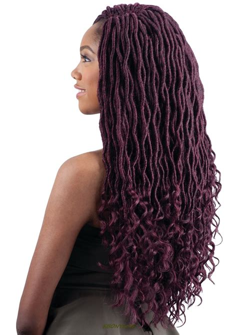 how to braid in prebraided hair goddess loc 18 quot freetress syntehtic crochet pre looped