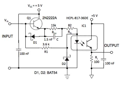 design guidelines for transistor output optocouplers optocoupler speed up also reduces power consumption edn
