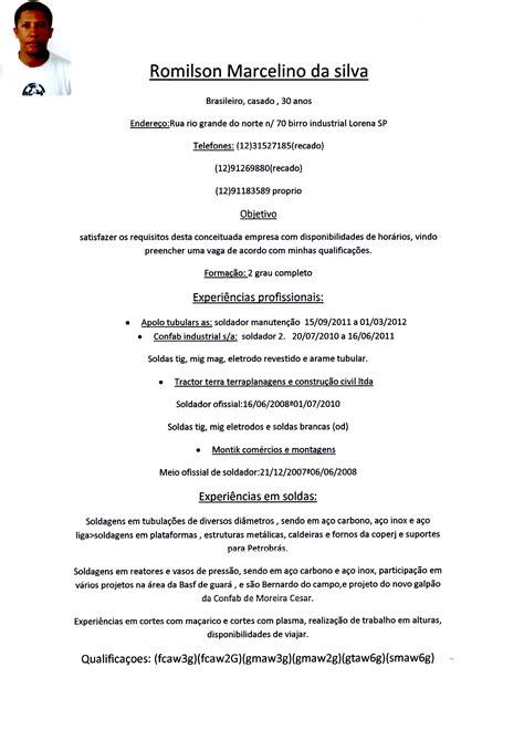 modelo curriculo tecnico de enfermagem portal de curr 237 culos em sjc vale do para 237 ba vale empregar