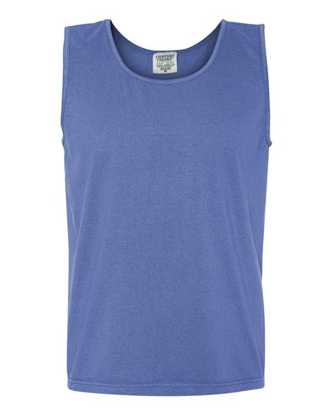 comfort colors mens cotton pigment dyed tank top shirt