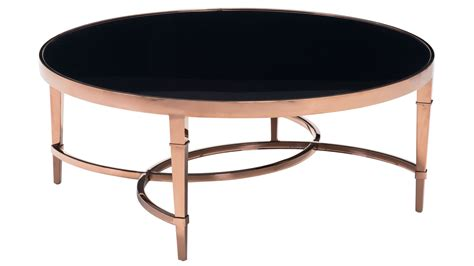Black And Gold Coffee Table Modern Pascale Glass Coffee Table Gold Black Zuri Furniture