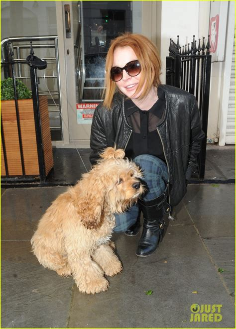 Lindsays Puppy by Sized Photo Of Lindsay Lohan Adorable 13