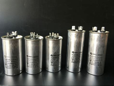 new ac motor capacitor air conditioner compressor start capacitor cbb65 450vac ebay