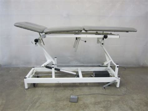 Chiropractic Table For Sale by Used Med Ortho Hi Lo Chiropractic Table For Sale Dotmed