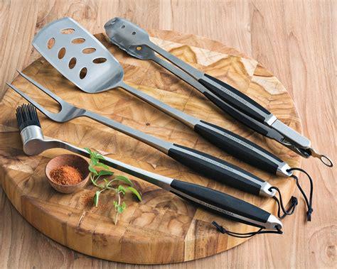 BBQ Grill Tools 4 Piece Set with Storage Case   Williams Sonoma AU