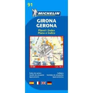 Motorrad Transport Girona by 9091 Michelin City Plan Girona Spain Maps Where Are