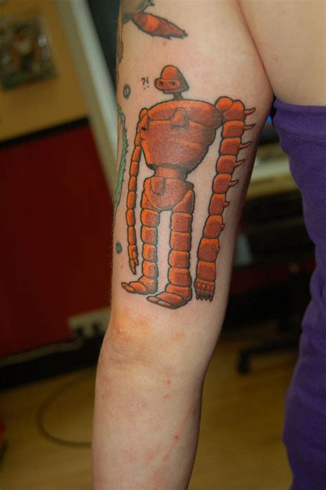 robotic tattoos robot tattoos on robots corey miller and