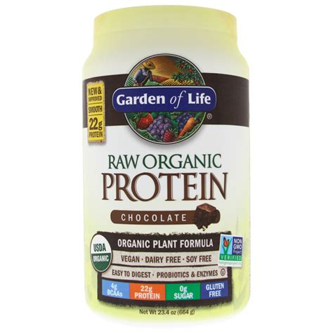 Garden Of Protein Review by Garden Of Organic Protein Chocolate 23 4 Oz