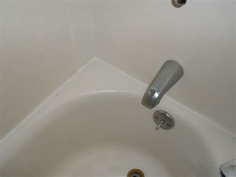 bathtub mildew get rid of mold in shower tub caulk cleaning pinterest
