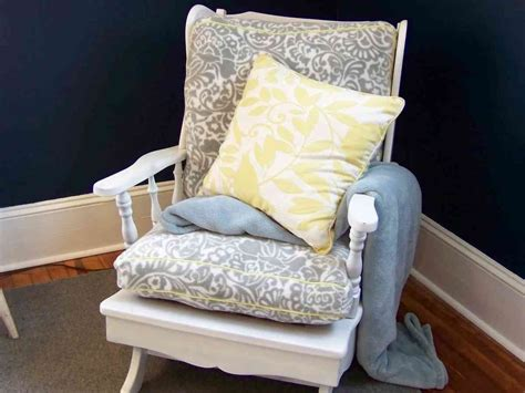 Rocking Chair Cushions Nursery Rocking Chair Cushion Sets For Nursery Decor Ideasdecor Ideas