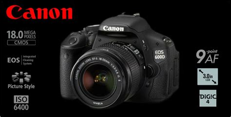 canon dslr 600d canon eos 600d dslr with 18 55mm lens price in