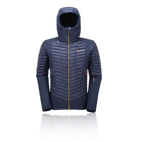 Hoodie Jaket Sweater Quattro Ls montane mens quattro fusion jacket top sleeve casual clothing blue ebay